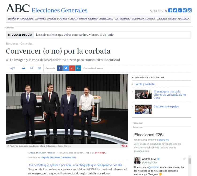 ABC corbata