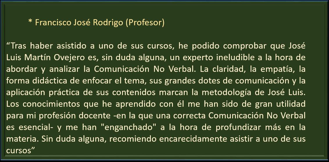 Francisco Jose Rodrigo
