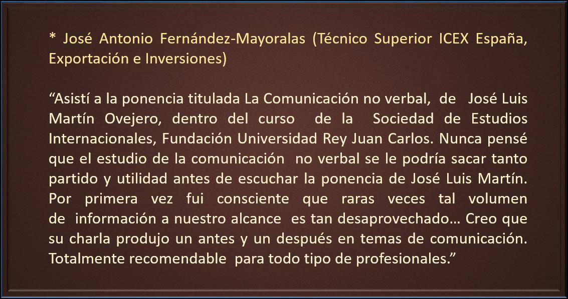 Jose Antonio Fernadez-Mayoralas