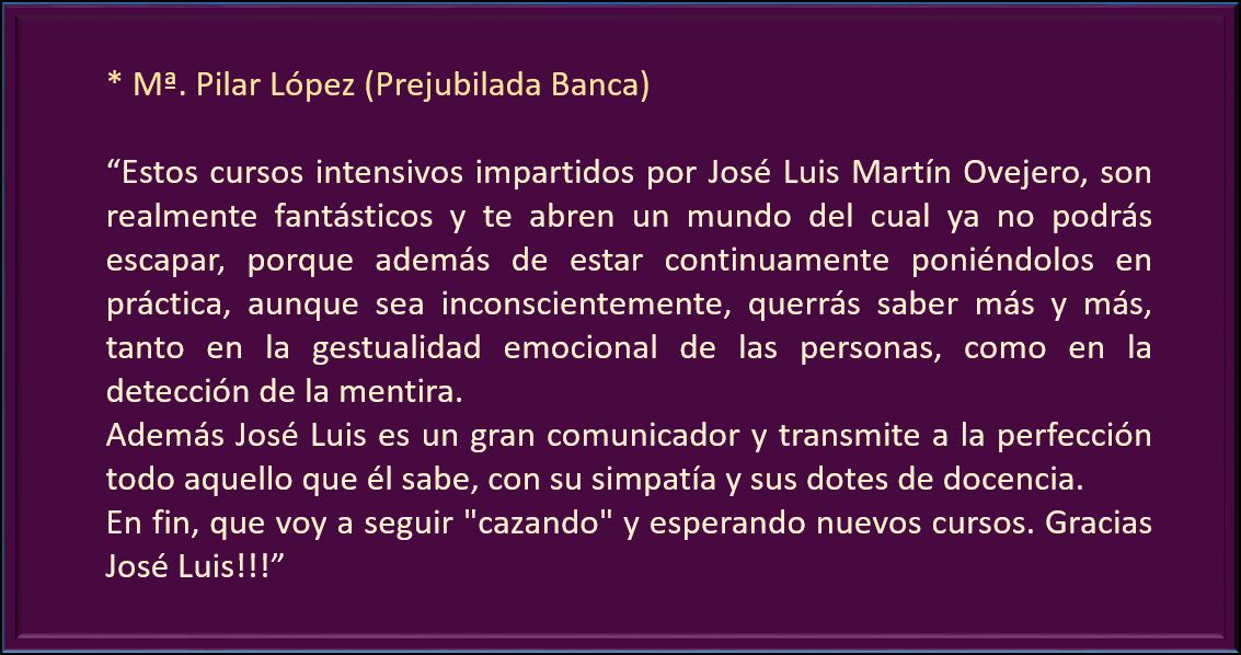 M Pilar Lopez