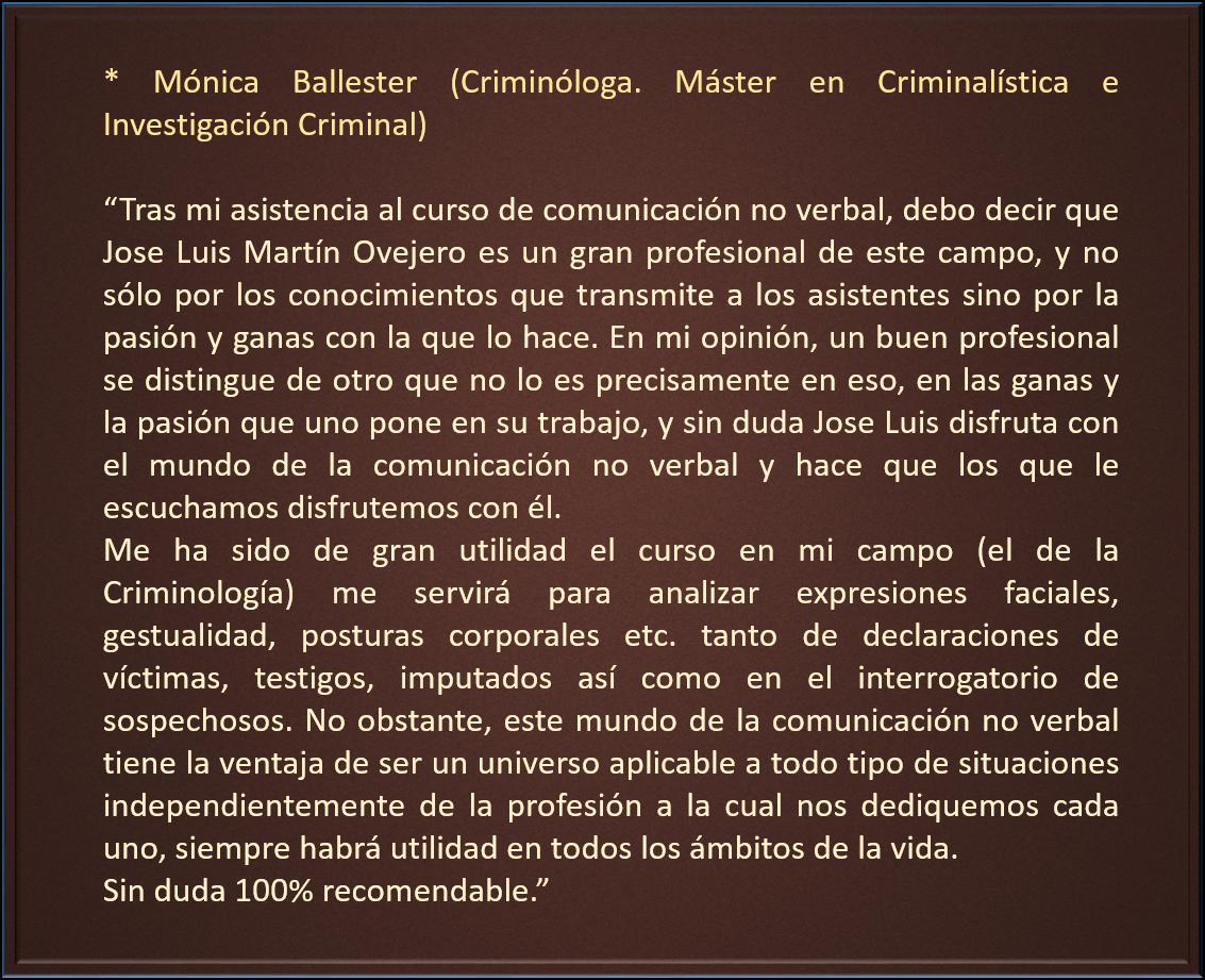 Monica Ballester