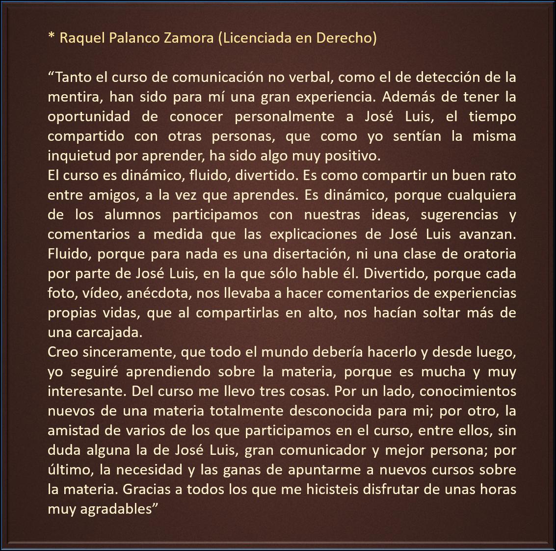 Raquel Palanco
