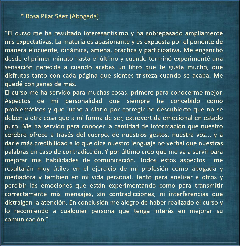 Rosa Pilar Saez