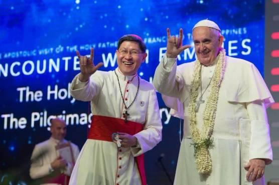 el-papa-y-el-cardenal-tagle