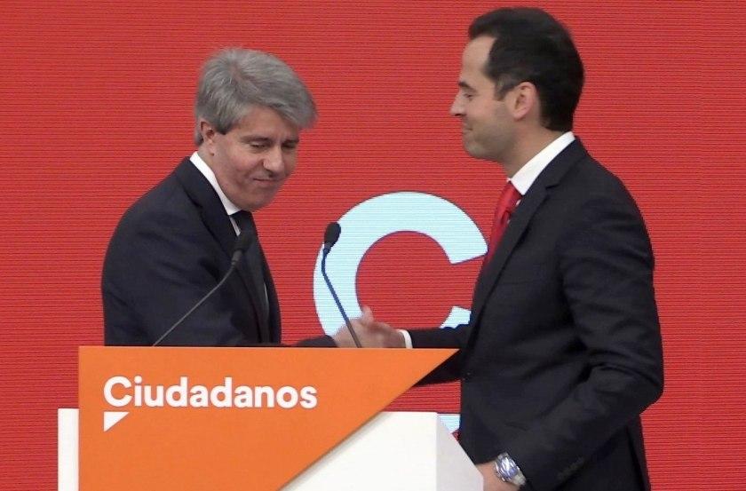 Ángel Garrido se suma a Cs como número 13 en la lista a la Asamblea de Madrid